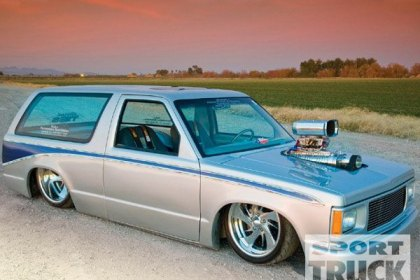 Best of Custom Trucks: 1985 Chevy S10 Blazer