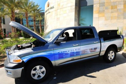 First 10 Hybrid Rams Will Serve As Patrol Vehicles
