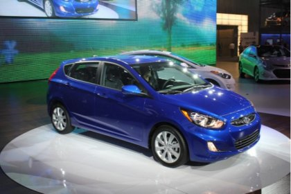 2012 Hyundai Accent Was Unveiled in New York