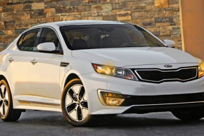 KIA Debuts Its Optima Hybrid, a Lower Priced Gas-Electric Vehicle