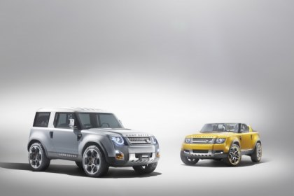 Land Rover DC100 Concept Heads to the LA Auto Show