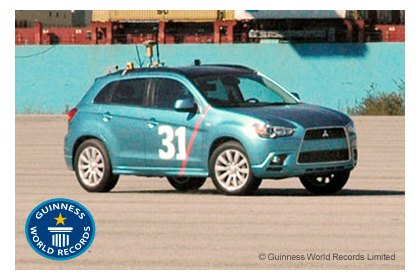 Mitsubishi in the Guinness Book of Records