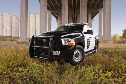 A Pickup Specially Designed for Police