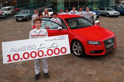 10,000,000th Midsize Audi Rolled Off