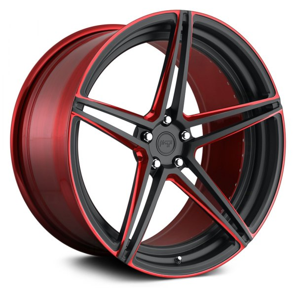 NICHE® - ROMA Mono II Matte Black with Candy Red Accents
