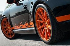 NICHE® - ESSEN Sport Series Custom Painted on Porsche 911 Turbo S