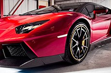 NICHE® - STUTTGART Multipiece Series Custom Painted on Lamborghini Aventador