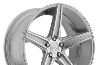 "NICHE® - APEX Silver with Machined Spokes (18"" x 8"", +40 Offset, 5x120.65 Bolt Pattern, 72.6mm Hub)"