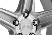 NICHE® - APEX Sport Series Silver with Machined Spokes Close-Up