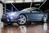 NICHE® - APEX Sport Series Silver with Machined Spokes on Mercedes CLS550