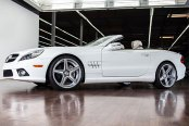 NICHE® - APEX Sport Series Silver with Machined Spokes on Mercedes SL Class