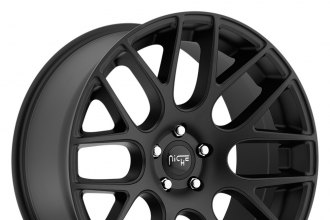 "NICHE® - CIRCUIT Sport Series Matte Black (18"" x 8"", +40 Offset, 5x112 Bolt Pattern, 66.6mm Hub)"