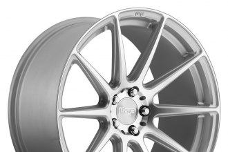 "NICHE® - ESSEN Silver with Machined Face (19"" x 8.5"", +35 Offset, 5x114.3 Bolt Pattern, 72.6mm Hub)"
