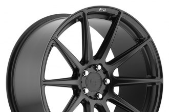 "NICHE® - ESSEN Sport Series Matte Black (19"" x 10"", +40 Offset, 5x120.65 Bolt Pattern, 72.6mm Hub)"