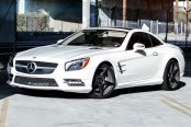NICHE® - GT-5 Matte Black on Mercedes SL Class