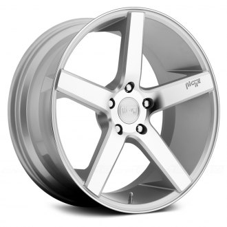 NICHE® - MILAN Sport Series Silver with Machined Face