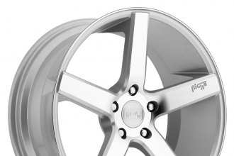 "NICHE® - MILAN Sport Series Silver with Machined Face (19"" x 8.5"", +45 Offset, 5x114.3 Bolt Pattern, 72.6mm Hub)"