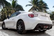 NICHE® - NR10 Racing Series Matte Black with Machined Face on Subaru BRZ