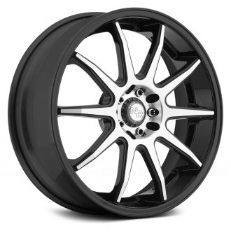 NICHE® - NR10 Racing Series Matte Black with Machined Face