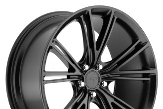 "NICHE® - RITZ Matte Black (19"" x 8.5"", +42 Offset, 5x108 Bolt Pattern, 63.5mm Hub)"