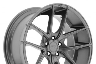 "NICHE® - TARGA Sport Series Anthracite (19"" x 10"", +25 Offset, 5x114.3 Bolt Pattern, 72.6mm Hub)"