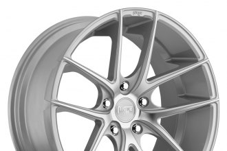 "NICHE® - TARGA Sport Series Silver with Machined Face (19"" x 8.5"", +25 Offset, 5x114.3 Bolt Pattern, 72.6mm Hub)"