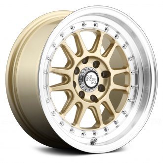 NICHE® - WALKER Racing Series Gold with Machined Lip