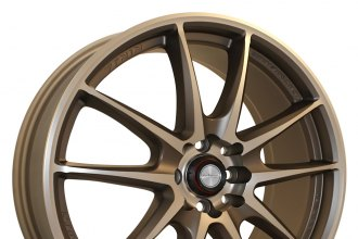 "NINJA® - NJ01 Copper (17"" x 7"", +40 Offset, 4x114.3 Bolt Pattern, 73.1mm Hub)"