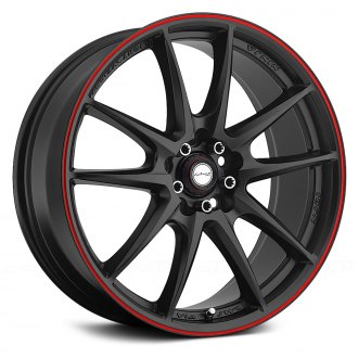 NINJA® - NJ01 Matte Black with Red Pinstripe