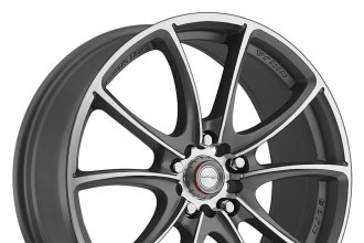 "NINJA® - NJ03 Dark Gray with Machined Face (17"" x 7"", +40 Offset, 5x114.3 Bolt Pattern, 73.1mm Hub)"