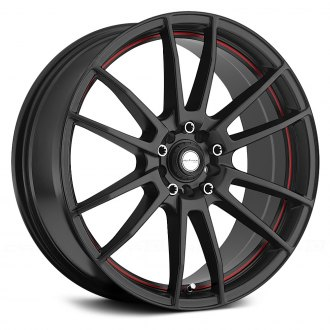 NINJA® - NJ09 Matte Black with Red Pinstripe