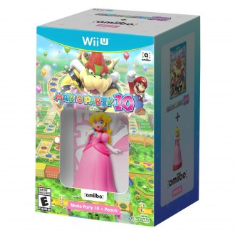 Nintendo® - Wii U Mario Party 10 amiibo Bundle