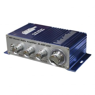 Nippon America® - Class AB 2-Channel 20W Mini Amplifier