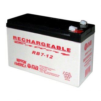 Nippon America® - 12V 7Ah Rechargeable Battery