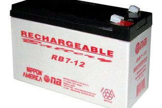 Nippon America® RB712 - 12V 7Ah Rechargeable Battery