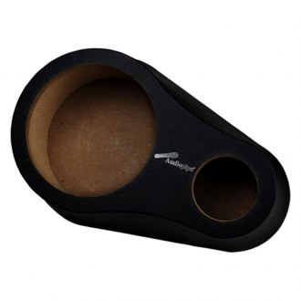 "Nippon America® ISPODWD8TBLK2 - 8"" Wood with Vinyl Rear Deck Speaker Pod with Tweeter Opening"
