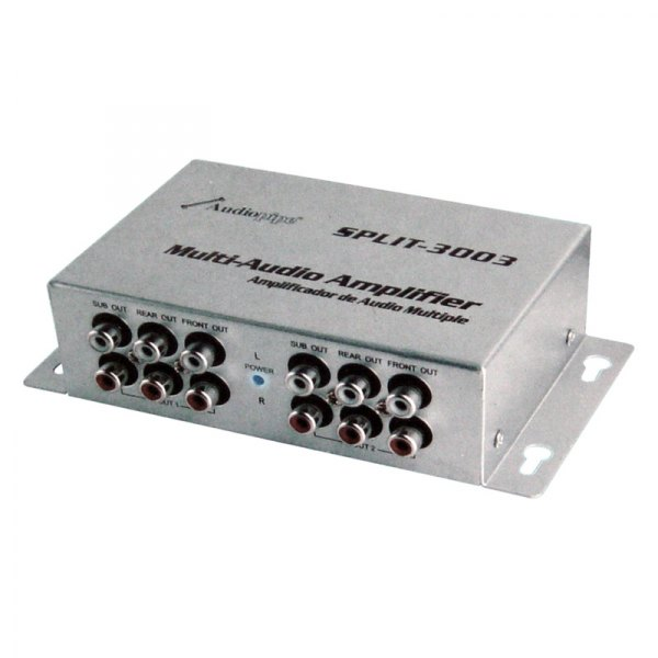 Nippon America® - Multi-Audio Amplifier 3 RCA Outputs