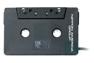 Nippon America® - Cd to Cassette Adapter with DC Converter