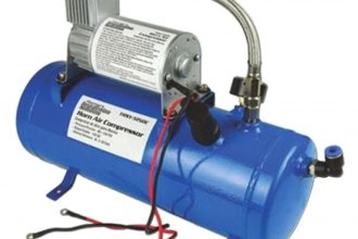 Nippon America® - Pipeman™ Blue Train Horn Air Compressor with 1.59 Gallon