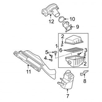 2002 Nissan Altima Oem Air Intake Parts Filters Carid Com
