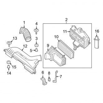 2008 altima engine diagram 2008 nissan altima replacement air intake parts     carid com  2008 nissan altima replacement air