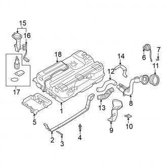 2002 Nissan Quest Oem Fuel System Parts Pumps Lines Carid Com