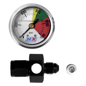 Nitrous Express® - Flow-Through Nitrous Pressure Gauge