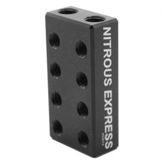 Nitrous Express® - 2 In / 16 Out Nitrous/Fuel Distribution Block