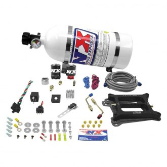 Nitrous Express® - 4150 4 BBL Gasoline Carbureted Nitrous Plate Wet System
