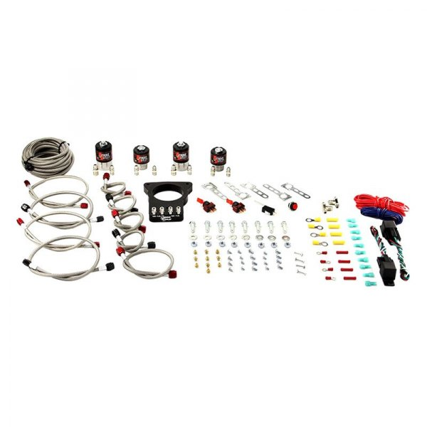 Nitrous Outlet® - 78 mm Dual Stage Plate Nitrous System