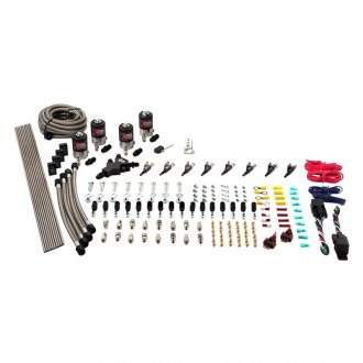 Nitrous Outlet® - Dual Stage Dry Racers Option Direct Port Nitrous System