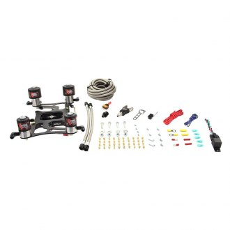 Nitrous Outlet® - 4150 Race Dual Stage Hornet Plate Nitrous System