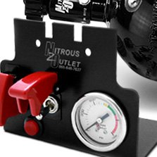 Nitrous Outlet® - Center Console Switch Panel with Gauge