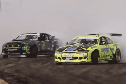 NITTO® 2014 Formula Drift Nitto secures 2nd place finish at Texas Motor Speedway (HD)